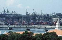 Singapurs Hafen