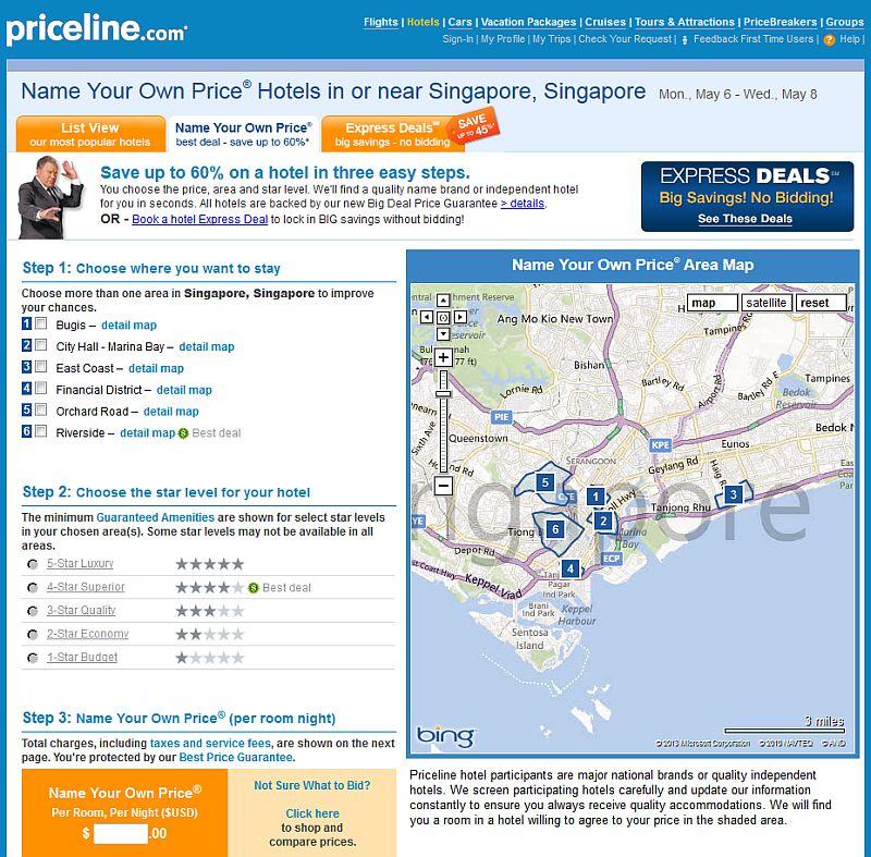 Priceline-Singapur